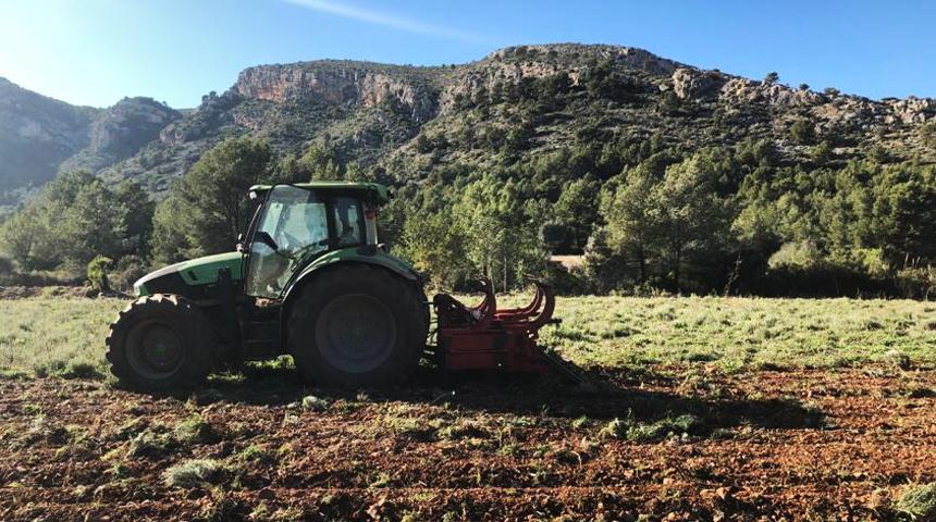 Trabajos tractor Cortafuegos Verdes