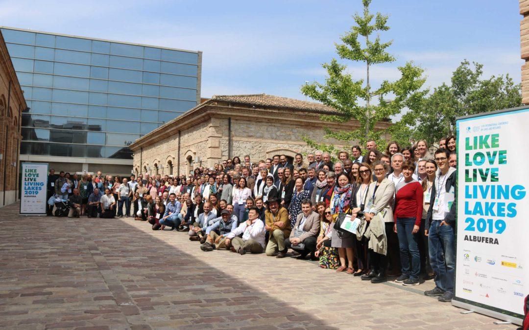 La Conferencia Living Lakes pone a Valencia en el centro mundial del debate sobre agua y cambio climático
