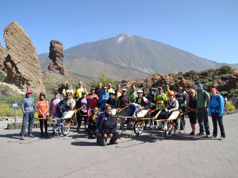 El Parque Nacional del Teide más accesible gracias a 'Naturaleza para todos'