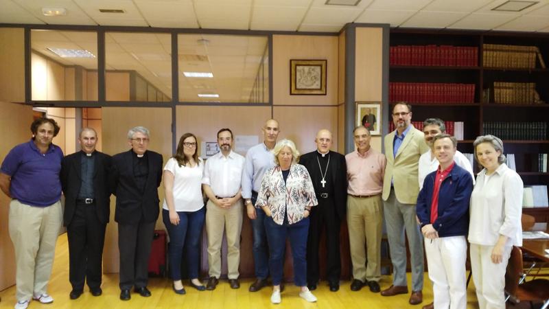 Reunión con el arzobispo de Madrid
