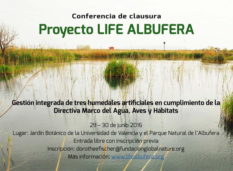 El proyecto europeo LIFE ALBUFERA presenta sus resultados finales