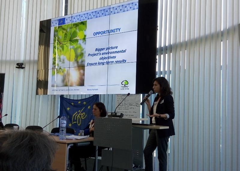La Fundación Global Nature presenta en Bruselas su experiencia en gestión de proyectos LIFE