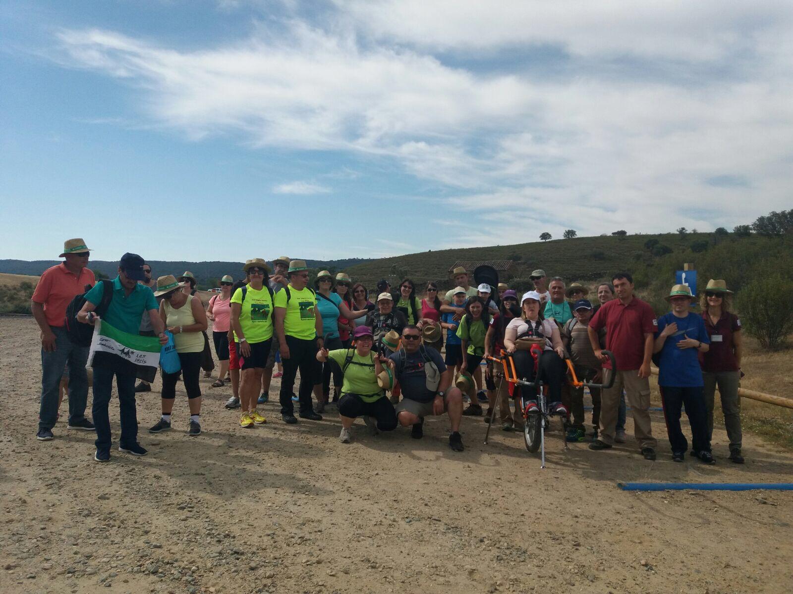 Ruta accesible por Monfragüe para celebrar el aniversario del Parque Nacional