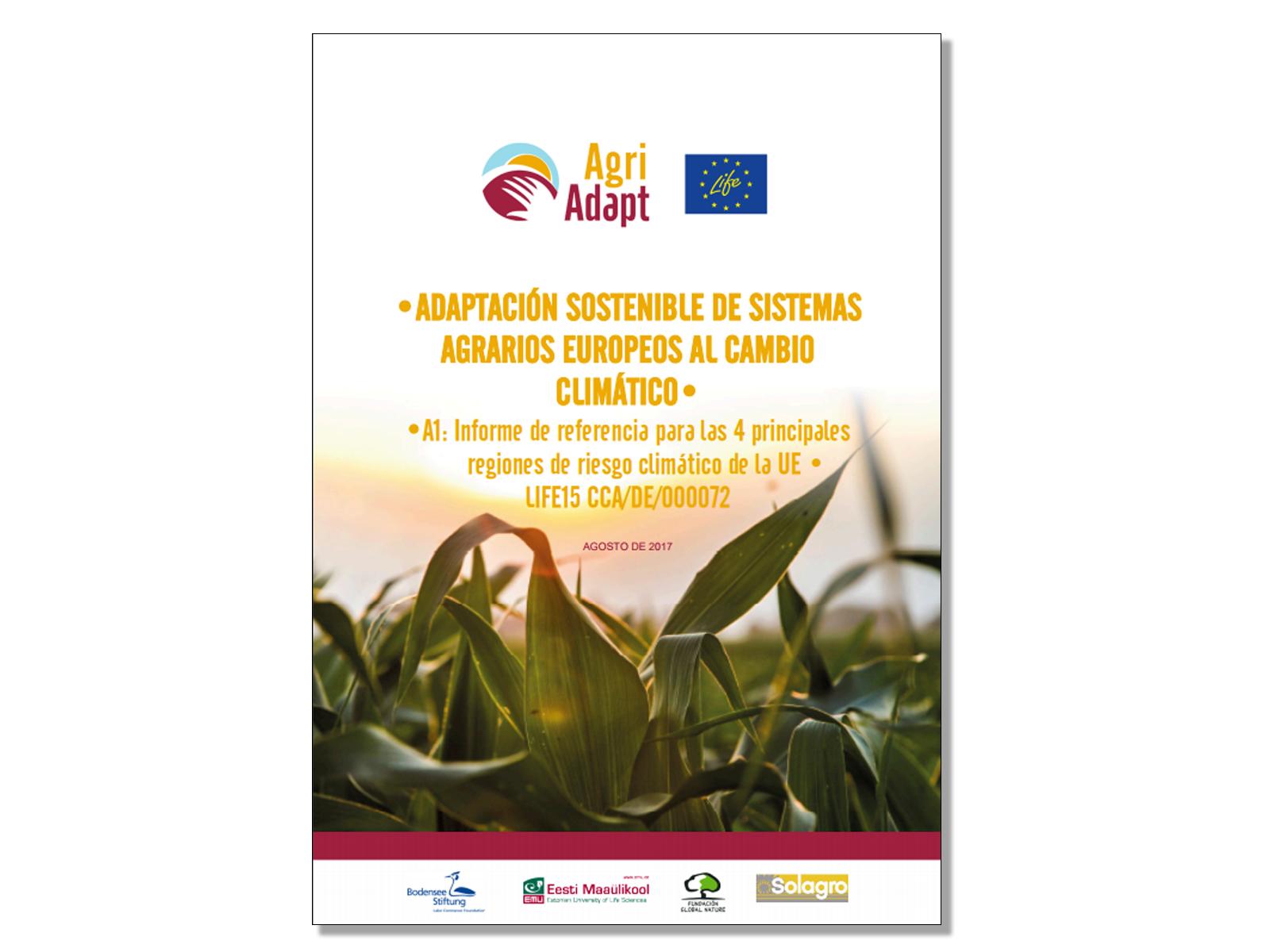 Un informe analiza los efectos del cambio climático en el sector agrario español en los próximos años