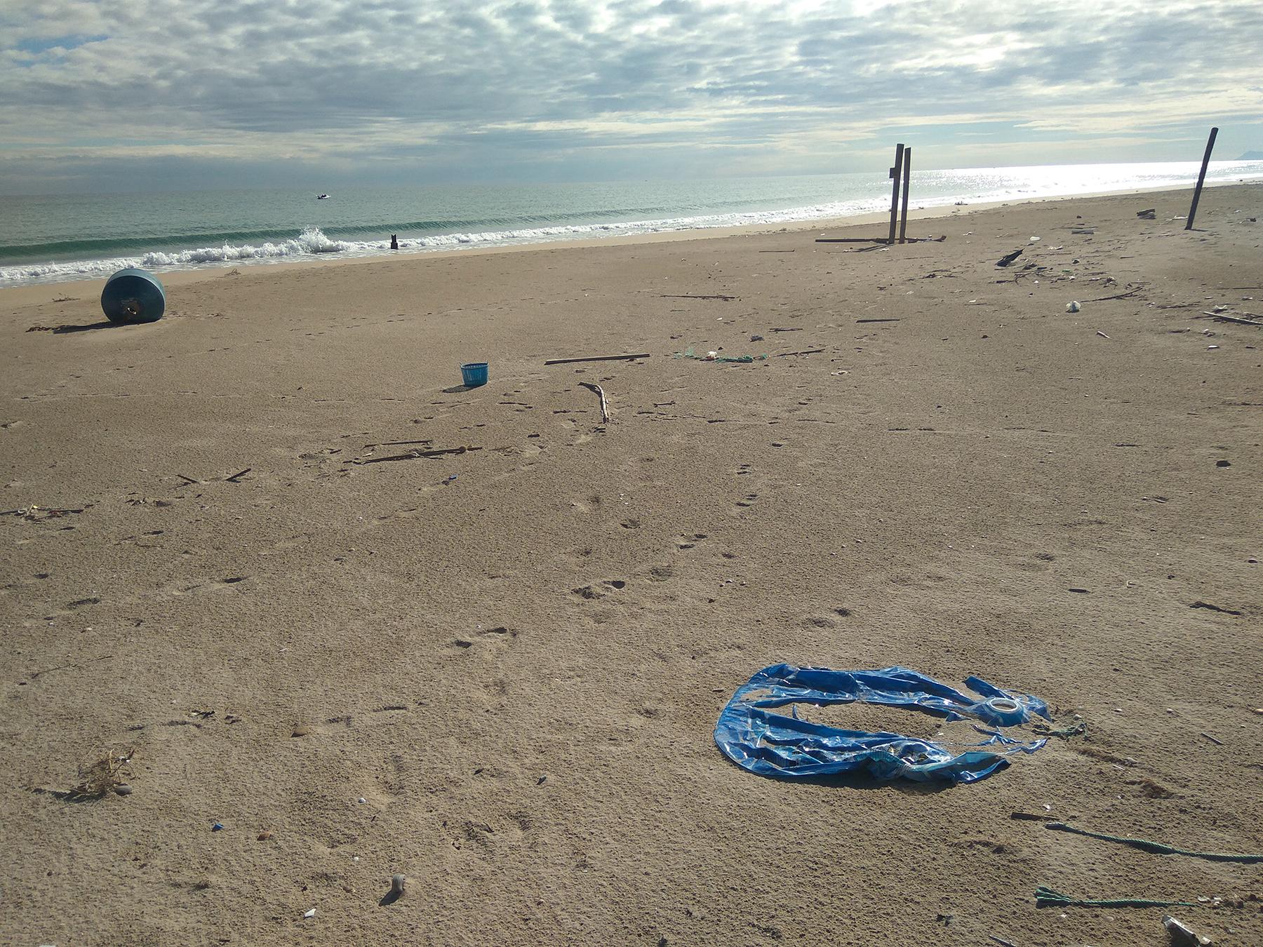 Un proyecto recogerá basura marina en Galicia y Valencia para su análisis y posterior valorización en forma de nuevos productos