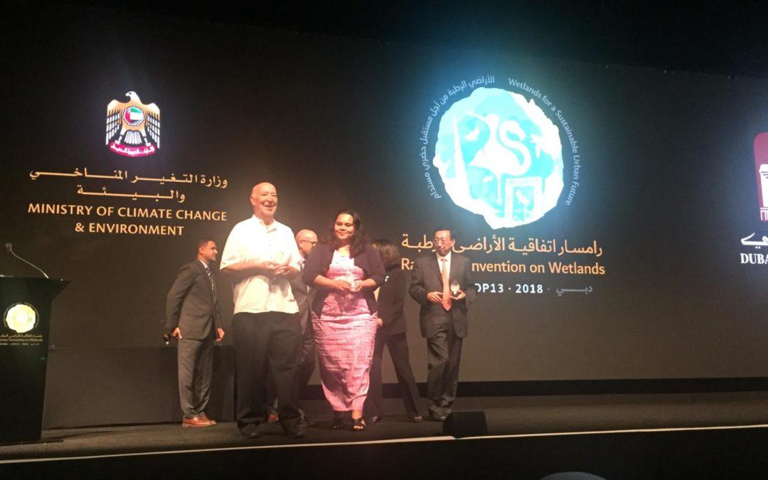 La Fundación Global Nature, primera entidad española en recibir el premio internacional Ramsar a la Conservación de humedales