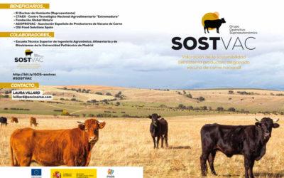 Fundación Global Nature participa en el Grupo Operativo SOSTVAC para la valoración de la sostenibilidad del sistema productivo de ganado vacuno de carne nacional