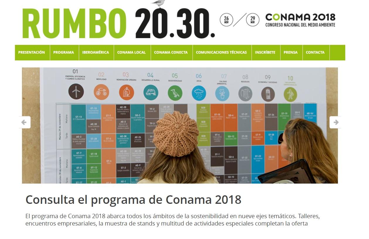 La Fundación Global Nature, muy presente en CONAMA