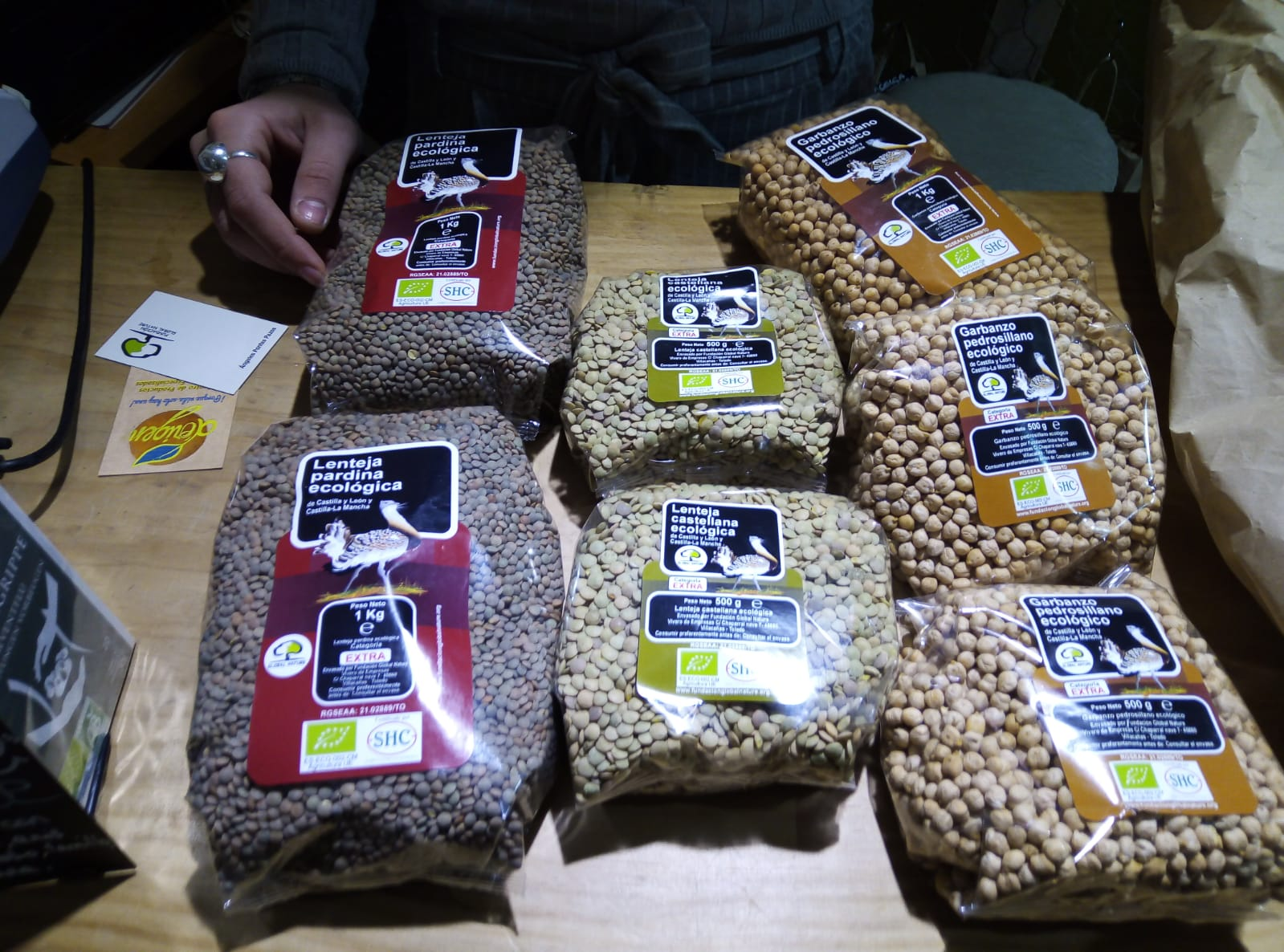 Cuando comprar legumbres ecológicas y locales ayuda a proteger las aves esteparias