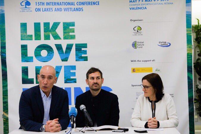 La conferencia Living Lakes convierte L'Albufera en capital mundial de los humedales