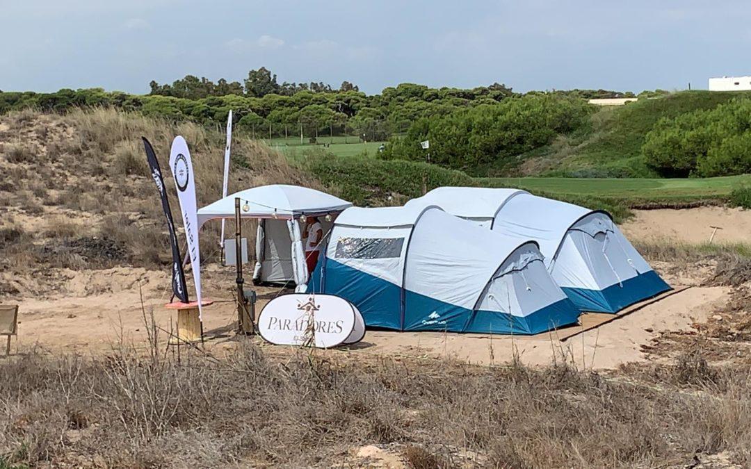 Un campamento base a tiempo completo  para proteger los huevos de la tortuga boba