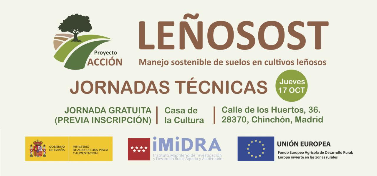 Convocatoria: Leñosot, jornada sobre manejo sostenible de suelos en cultivos leñosos