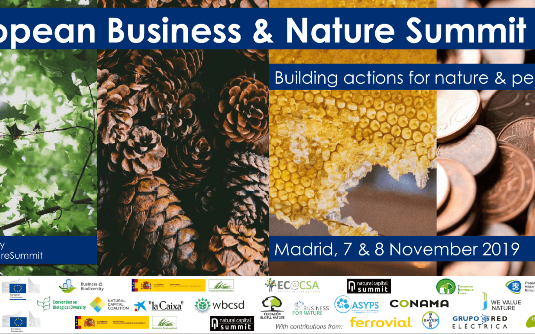 Fundación Global Nature, presente en el evento European Business and Nature Summit