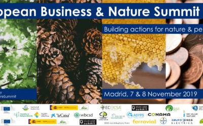 Fundación Global Nature, presente en el evento European Business and Nature Summit