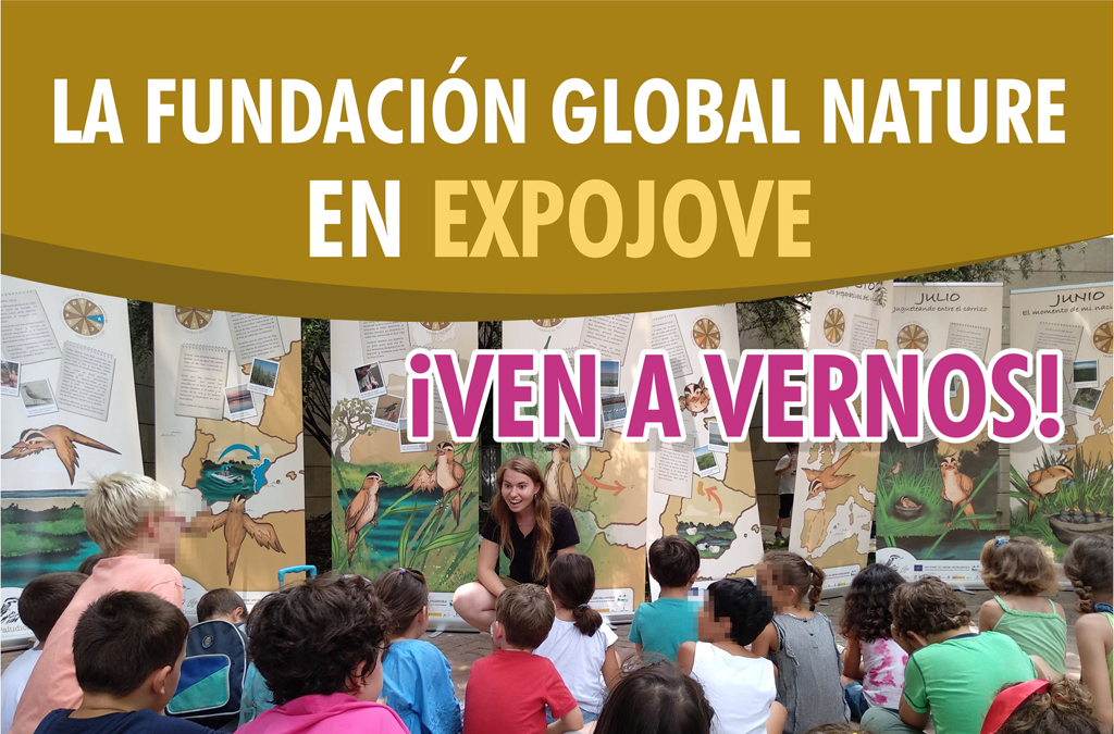 Fundación Global Nature estará en EXPOJOVE, Feria de la Infancia y la Juventud