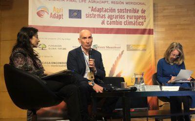 LIFE Agriadapt presenta herramientas que evalúan el riesgo climático en explotaciones agrarias y consiguen que sean más resilientes