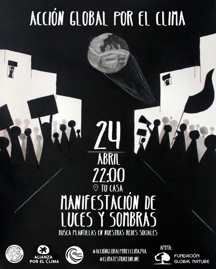 Cientos de organizaciones sociales bajo el paraguas de Fridays for Future, 2020 Rebelión por el Clima y Alianza por el Clima llaman a una acción global por el clima el próximo 24 de abril