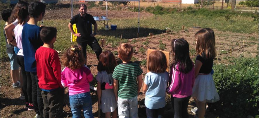 Los profesores se preparan para fomentar la economía circular en los huertos escolares