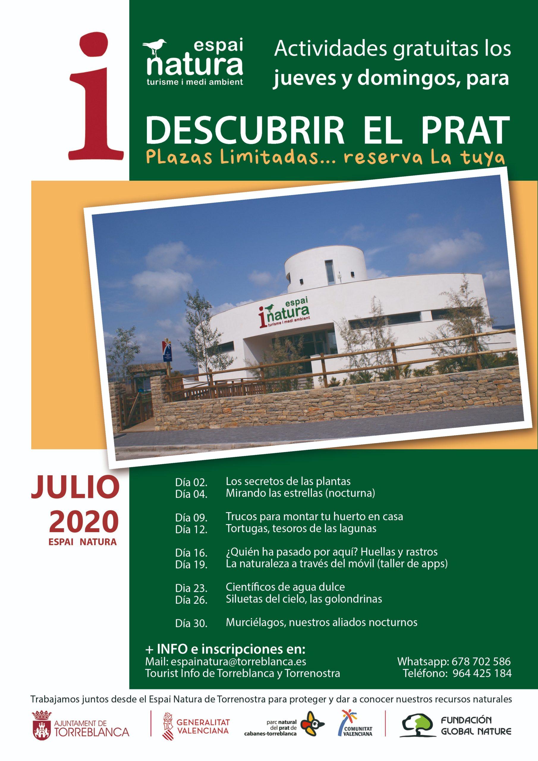 Retomamos nuestros talleres presenciales en Torreblanca