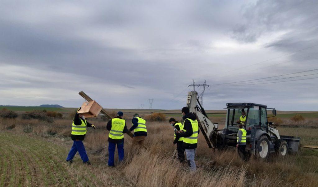 Reconciliación ambiental para el control biológico de plagas en Pedraza de Campos