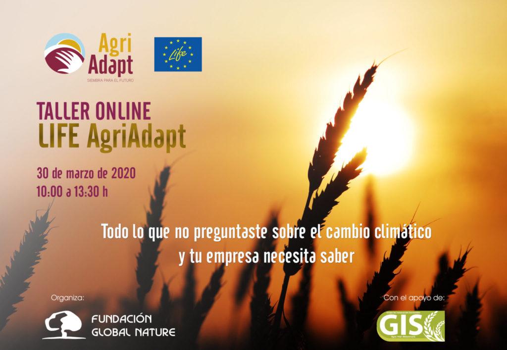 Taller Adaptación del sector agrario al cambio climático: herramientas y experiencias piloto'