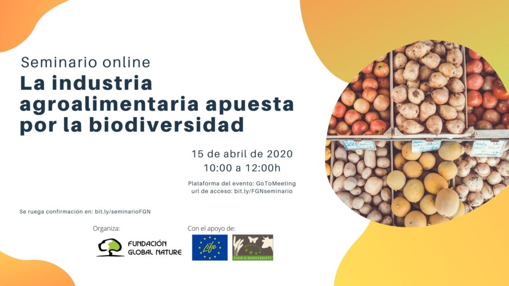 MÓDULO DE FORMACIÓN ONLINE LIFE FOOD & BIODIVERSITY: DATOS PARA EL FORMULARIO DE INSCRIPCIÓN