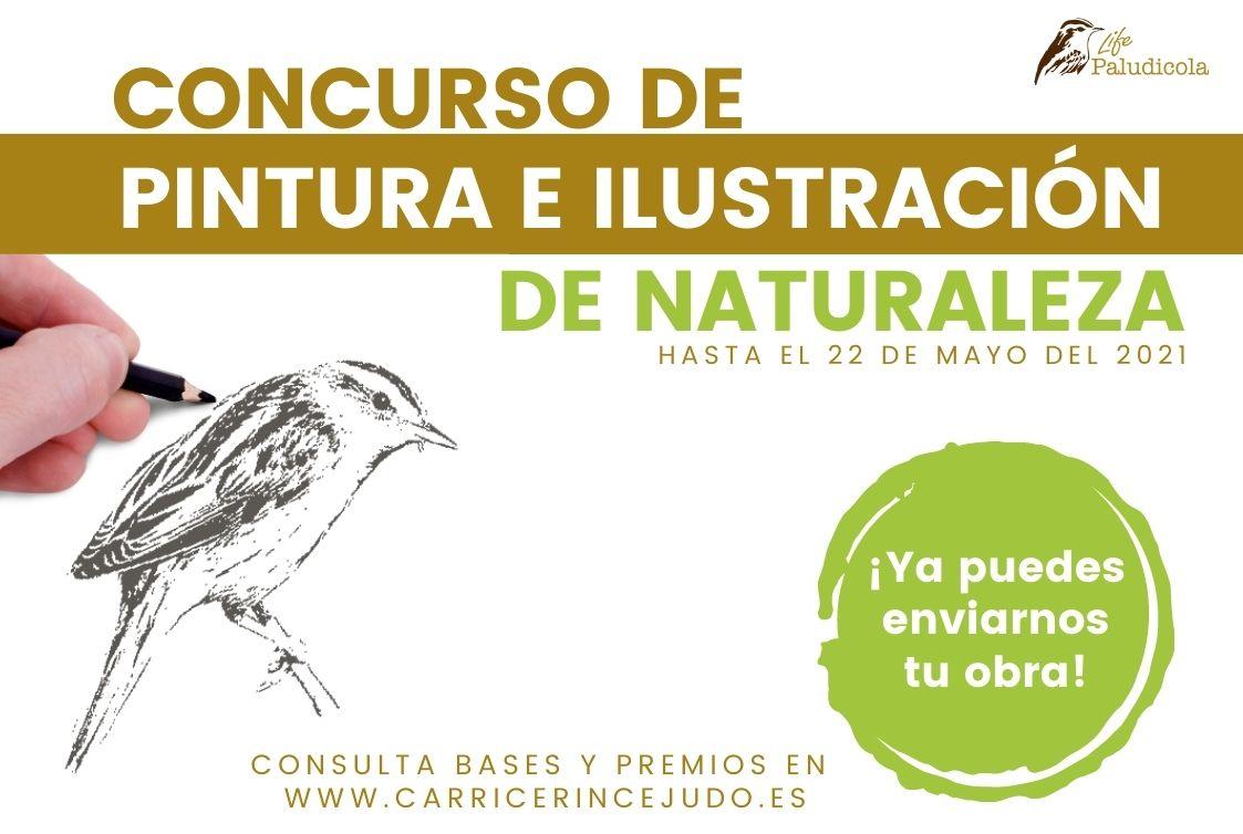 ¡Abierto el plazo! Concurso de pintura e ilustración de naturaleza. Hasta el 22 de mayo