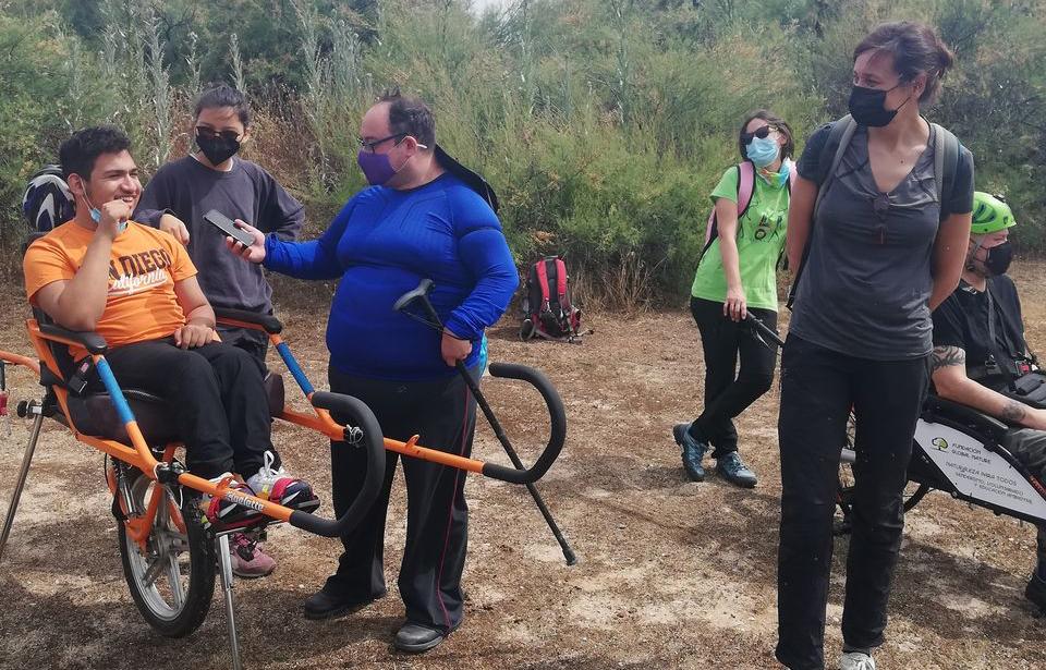 Primera ruta accesible e inclusiva Fundación Quirón dentro del proyecto Naturacces