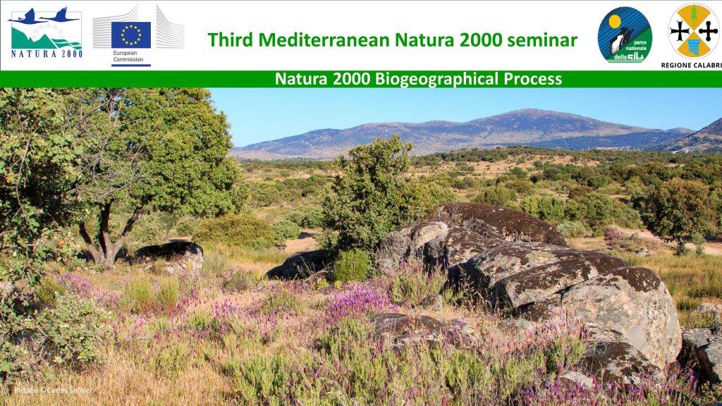 La red natura 2000 para la región biogeográfica del mediterráneo 2021