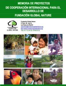 Memoria FGN proyectos cooperación 2015